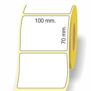 Rotoli etichette in carta termica vellum jetgloss