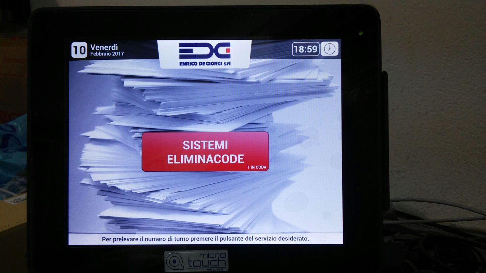 ELIMINACODE Sistemi semplici e complessi mono multi sportello